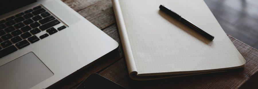 iphone desk laptop notebook