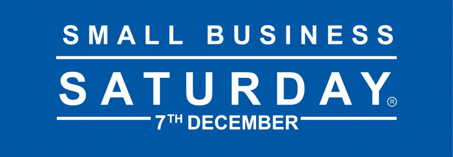 Small Business Saturday UK  Logo English Blue